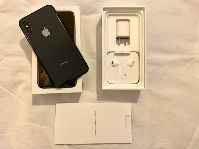 Iphone XS, 256gb, preto - Impecável com nota fiscal
