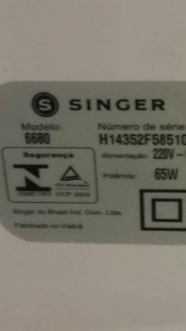 Máquina de costura singer 6680 - Foto 5