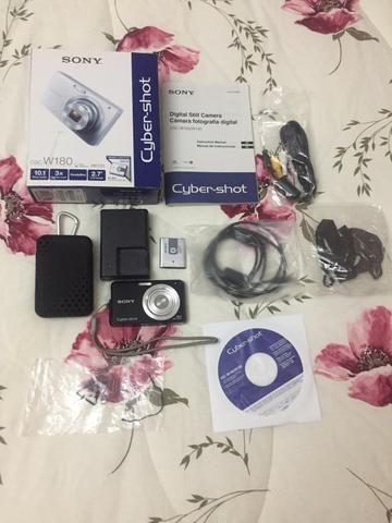 Câmera Sony Cyber-shot 10.1 Mpx - Modelo: Dsc-w180