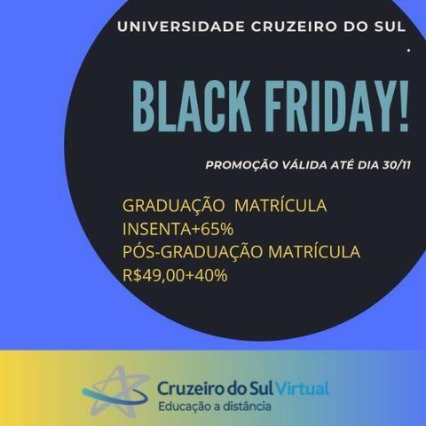 Black Friday Universidade Cruzeiro do Sul