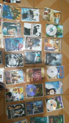 62 DVD variados valor de tudo 80 reais