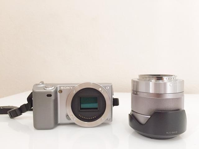 Câmera Mirroless Sony Nex 5 - Foto 6