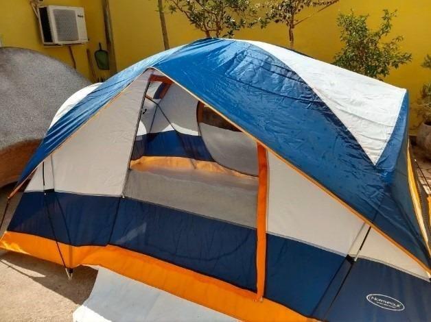 Barraca de camping Northpole para 5 pessoas + Acessórios de brinde