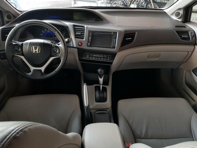 Honda Civic 2012 EXS C/Teto automático - Foto 9