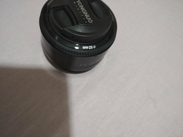 Vendo lente 50mm canon - Foto 4