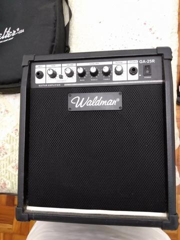 Guitarra Shelter + Amplificador Waldman - Foto 4