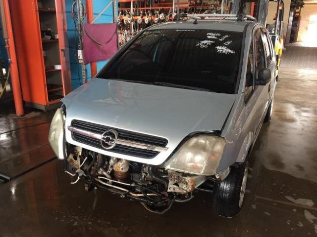 Pecas usadas Chevrolet Meriva 2006 2007 1.8 8v flex 114cv câmbio manual - Foto 5