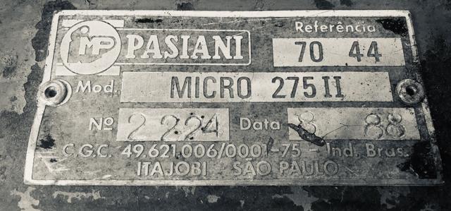Cilindro de Massa Pasiani - Foto 2