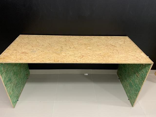 Mesa de madeira sustentável (duas) - Foto 3