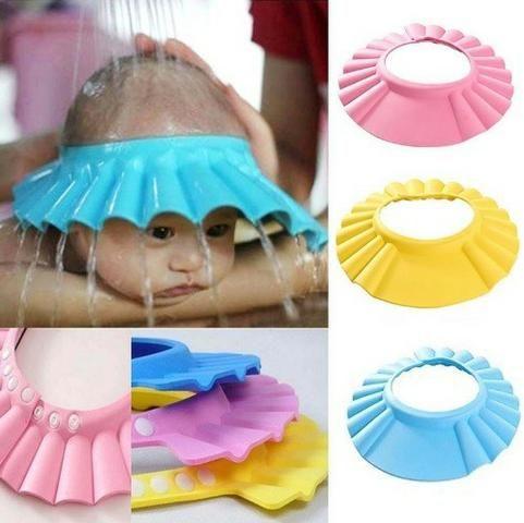 Chapéu Protege Olhos e Ouvido Durante Banho (Alagoinhas)