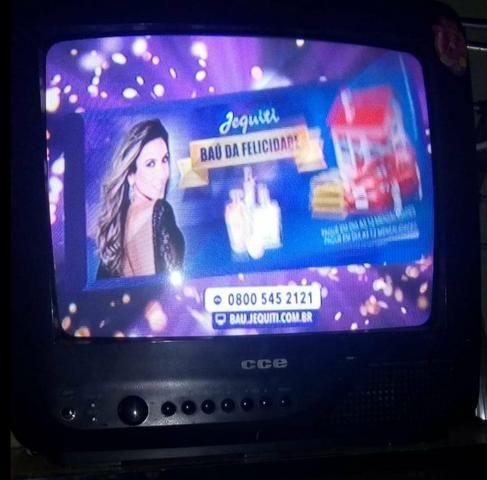 TV 14 polegadas acompanha o conversor digital