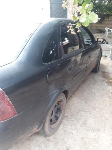 Vende - se corsa sedan 2003 ou troco por carro aberto .ligações nesse número 991371547 - Foto 4