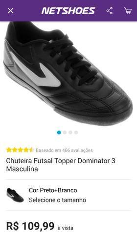 Tênis futsal Topper dominator 3 - Esportes e ginástica - Barreiro de . 7abca19a6456a