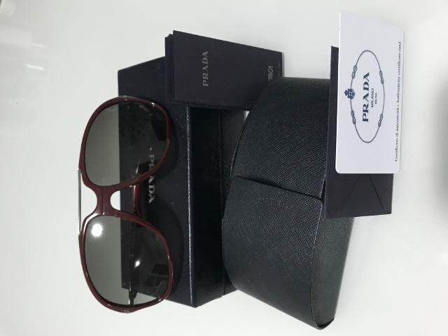 Óculos feminino Prada Original - Bijouterias, relógios e acessórios ... 5556dc92d5