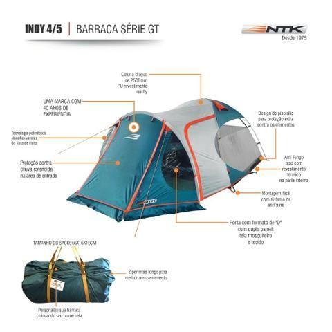 747903792 Barraca de camping NTK Indy GT 4 5 - (usei apenas 2x) - Esportes e ...