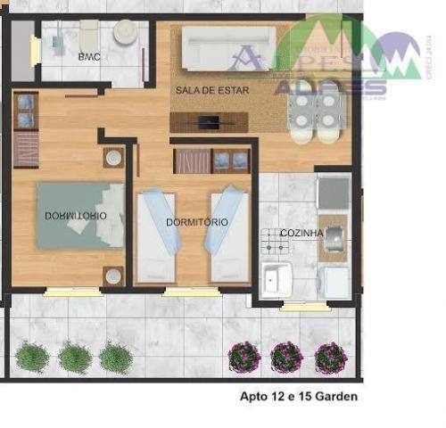 Apartamento residencial à venda, colônia murici, são josé dos pinhais. - Foto 8