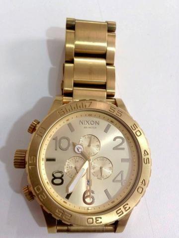 22bc064508 Relógio nixon gold 51-30 - Bijouterias