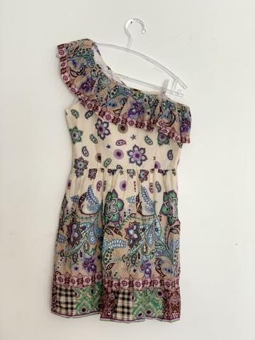0072d9a602 Vestido de algodão estampado - Roupas e calçados - Tambauzinho