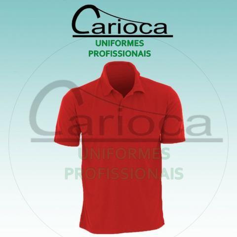 47573258a Camisa Gola Polo vermelha - Roupas e calçados - Jardim América