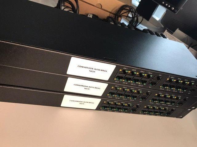 Conversor Intelbras 16CH (semi-novo) - Foto 2