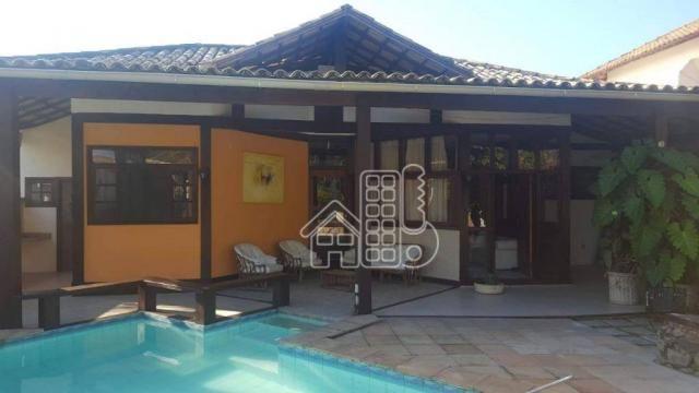 Casa com 3 dormitórios à venda, 250 m² por R$ 1.300.000,00 - Itaipu - Niterói/RJ