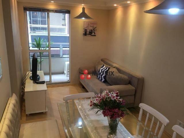 Apartamento com 3 dormitórios à venda, 63 m² por R$ 355.100,00 - Cristo Rei - Curitiba/PR - Foto 12
