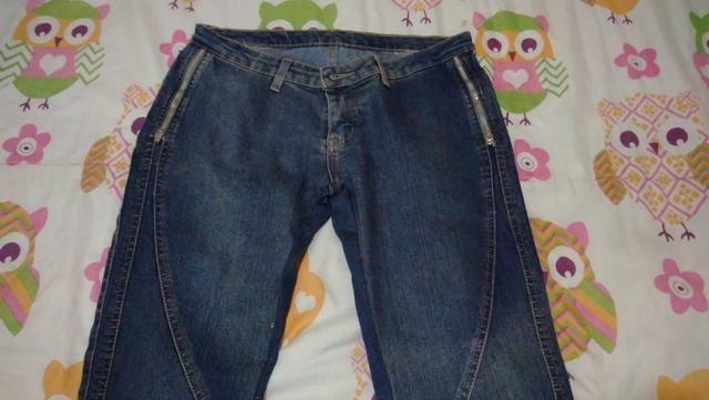 Bermuda e calça jeans feminina tam 42