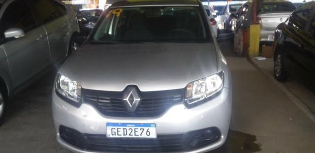 Renault logan completao novissimo com gnv