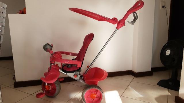 Triciclo Bandeirantes Rosa