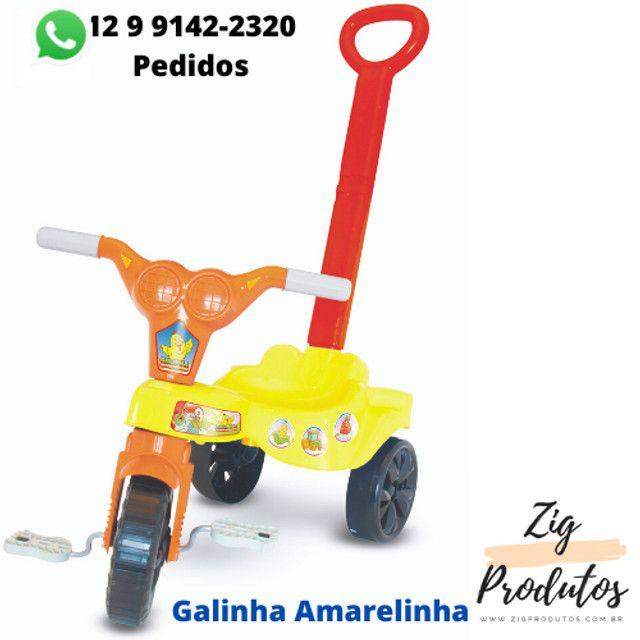 Triciclo Infantil Velocipe Bob Com Empurrador - Promoção Produtos Novos - Foto 2