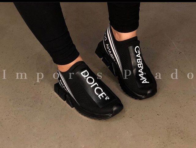 ?Tênis Dolce&Gabbana Sorrento do 34 ao 43 ??. 299,90 / 350,00 em até 5x - Foto 3