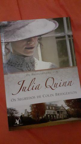 Livro Os segredos de Colin Bridgerton de Os Bridgertons