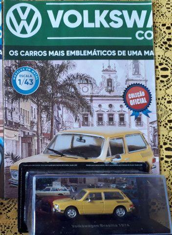 Miniatura Vw Collection VW Brasília 1974 + Fascículo - Foto 4