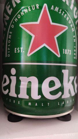 Barril Heineken-SOM 200W RMS com sub .
