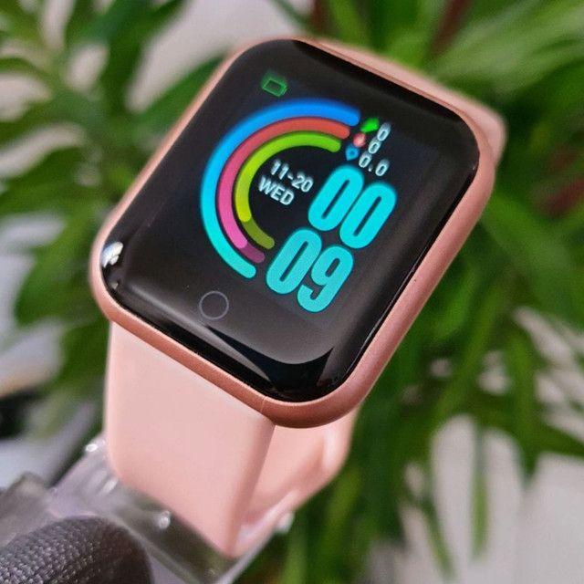 Relógio Smartwatch y68 Atualizado 2021. - Foto 2