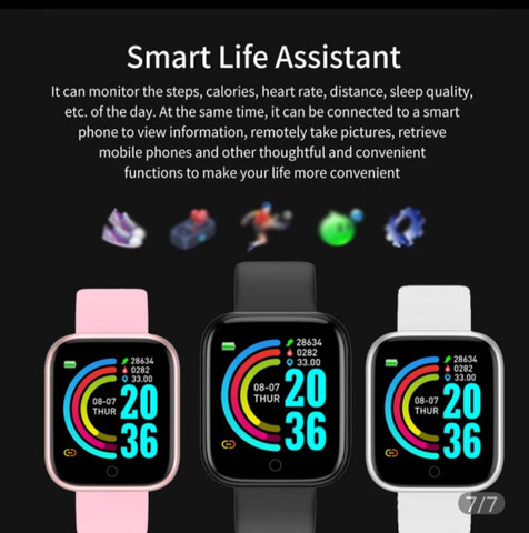 Smartwatch Cores Variadas Ótimo Preço. - Foto 4