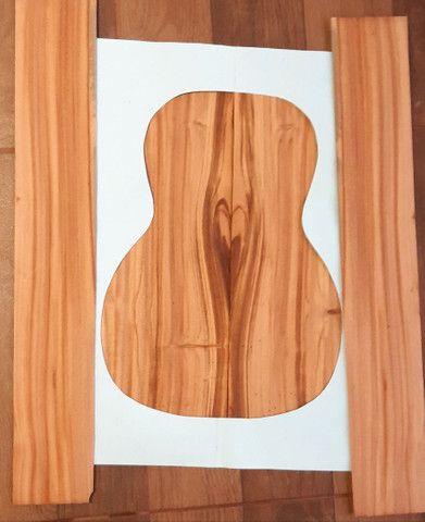 Kit fundo lateral para violão