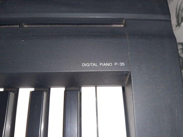 Piano eletrônico P35 Yamaha  - Foto 2