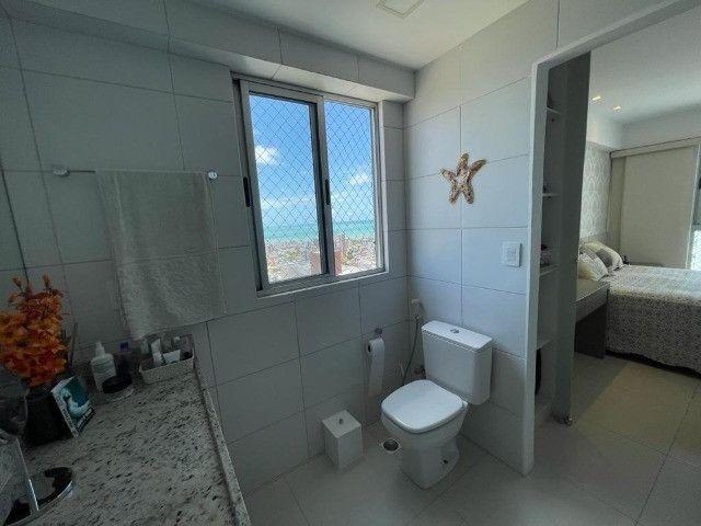 Ótimo apartamento no Residencial Alfredo Volpi, Bessa, 3 suítes + DCE, com linda vista  - Foto 13
