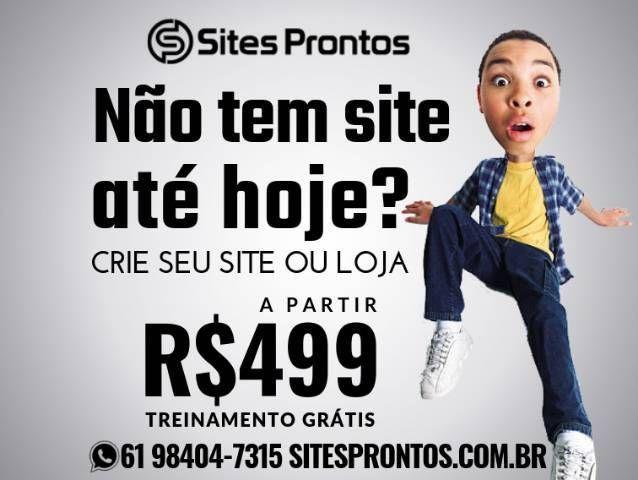Criação de sites - promoção R$499