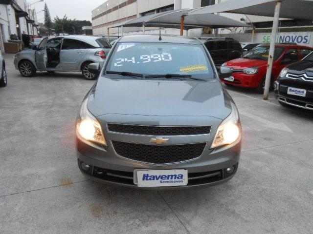 CHEVROLET AGILE 2010/2011 1.4 MPFI LTZ 8V FLEX 4P MANUAL