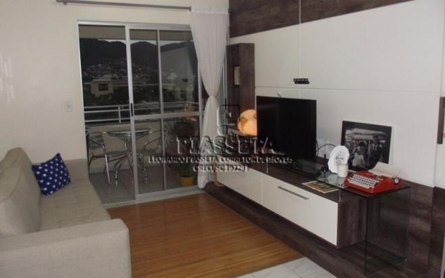 Apartamento 2 dormitórios semi mobiliado junto ao Floripa Shopping