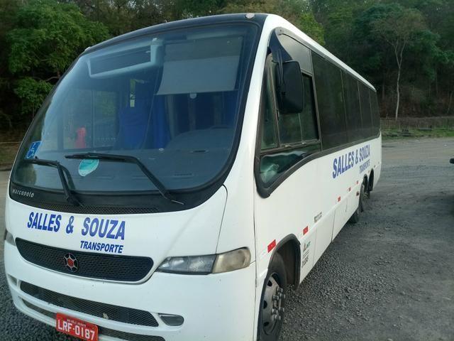 Micro onibus trucado
