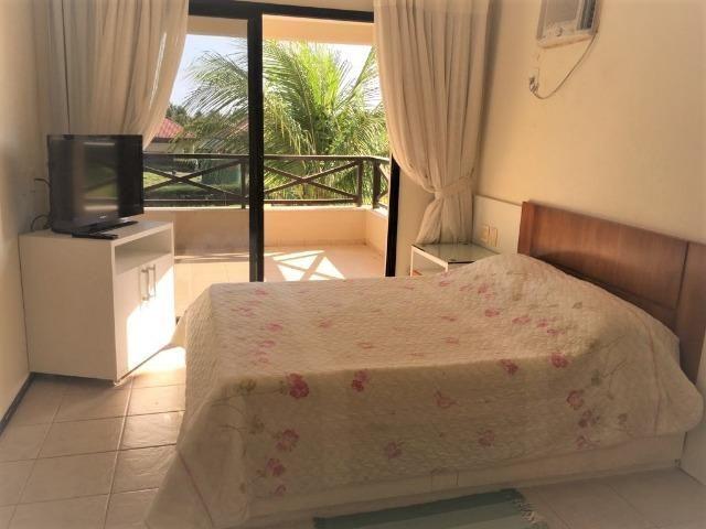 Apto temporada Aquaville 2 suites, próximo Beach Park no Porto das Dunas - Foto 4