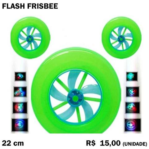 Flash Frisbee com Luz