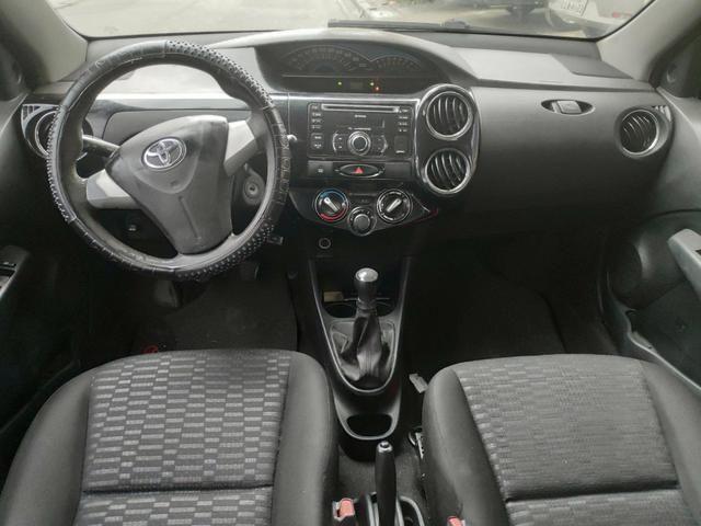 Ex Táxi - Etios Sedan Xs 1.5 2014 Aprovação Imediata - Foto 4