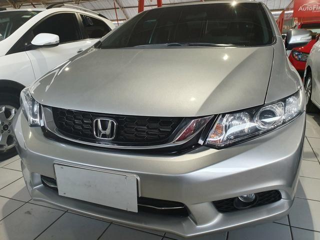 Honda civic 2015 lxr 2.0 automático extra top aceito troca