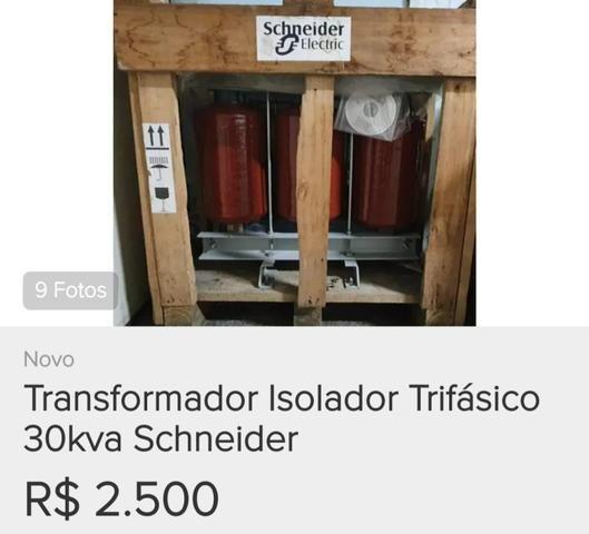 Transformador Isolador TRIfasico 30kva Schneider
