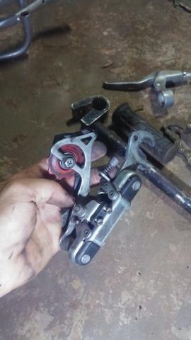 Vendo peças de bike - Foto 3