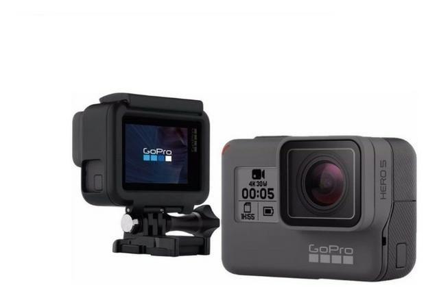 Câmera Gopro Hero5 Black 4k + Cartão Sd 64gb + Bateria Extra - Foto 5